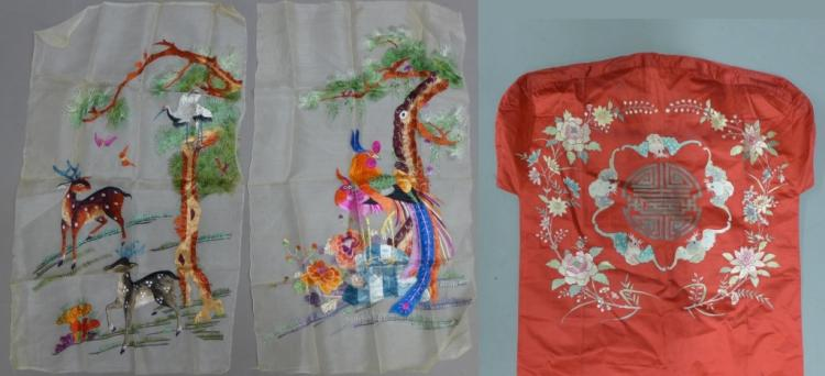 Asian Embroidery Grouping