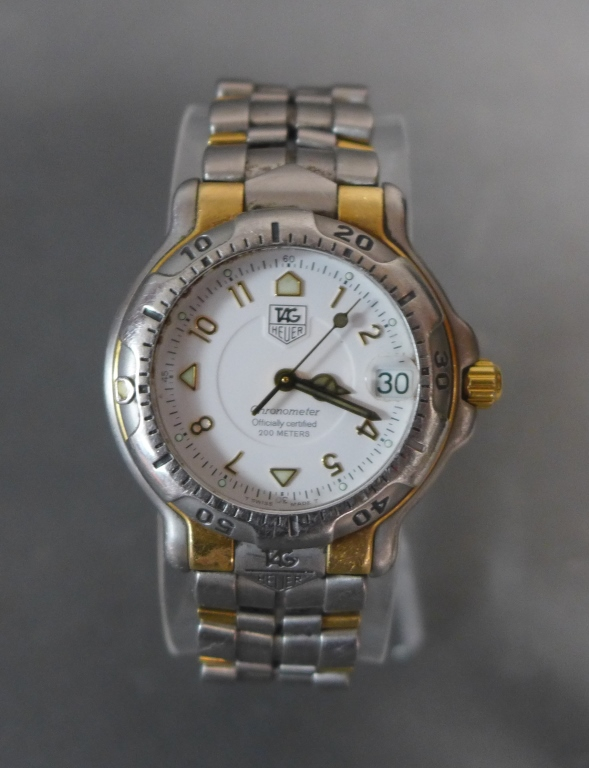 TAG HEUER 18K & Stainless Steel Chronometer