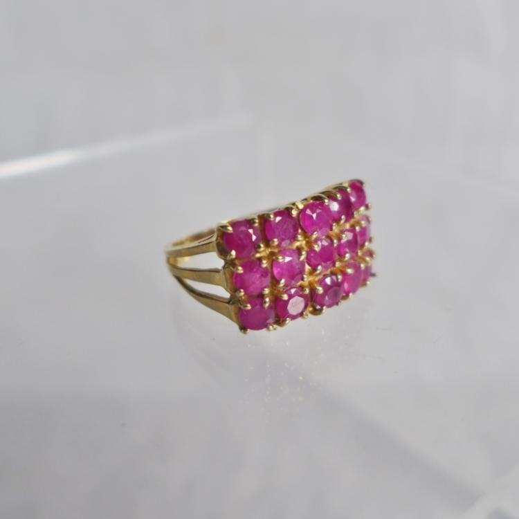 Yellow Gold & Ruby Ring