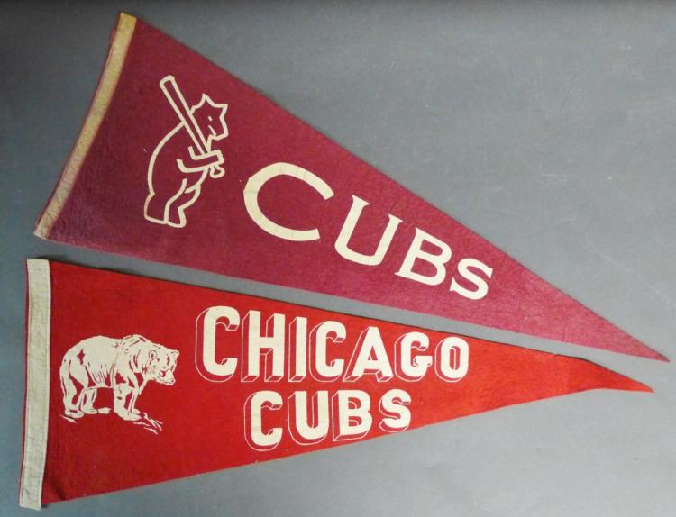 Chicago Cubs Pennant Flags