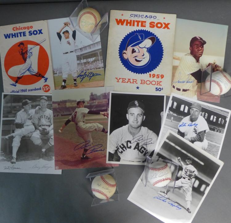 Chicago White Sox Autographs and Memorabilia