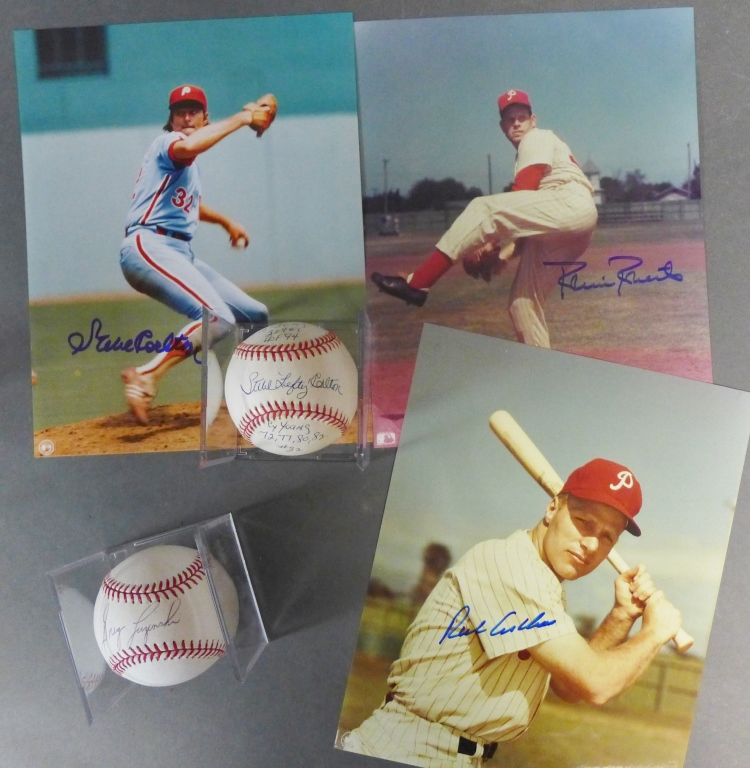 Philadelphia Phillies Signed Photos & Baseballs