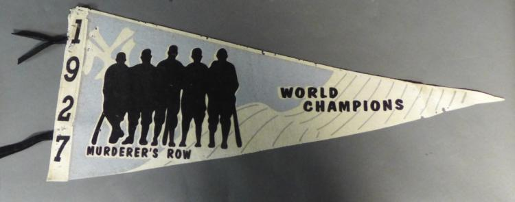Custom Made Murder's Row Pennant