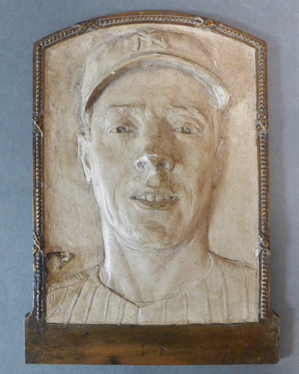 Joe DiMaggio Relief Plaque