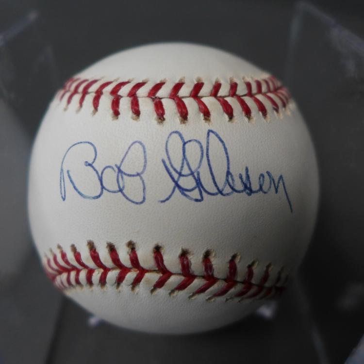 Bob Gibson Autographed MLB Ball
