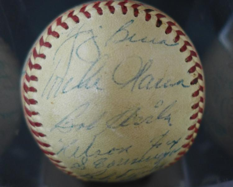 1954 American League All-Stars Team Signed Ball