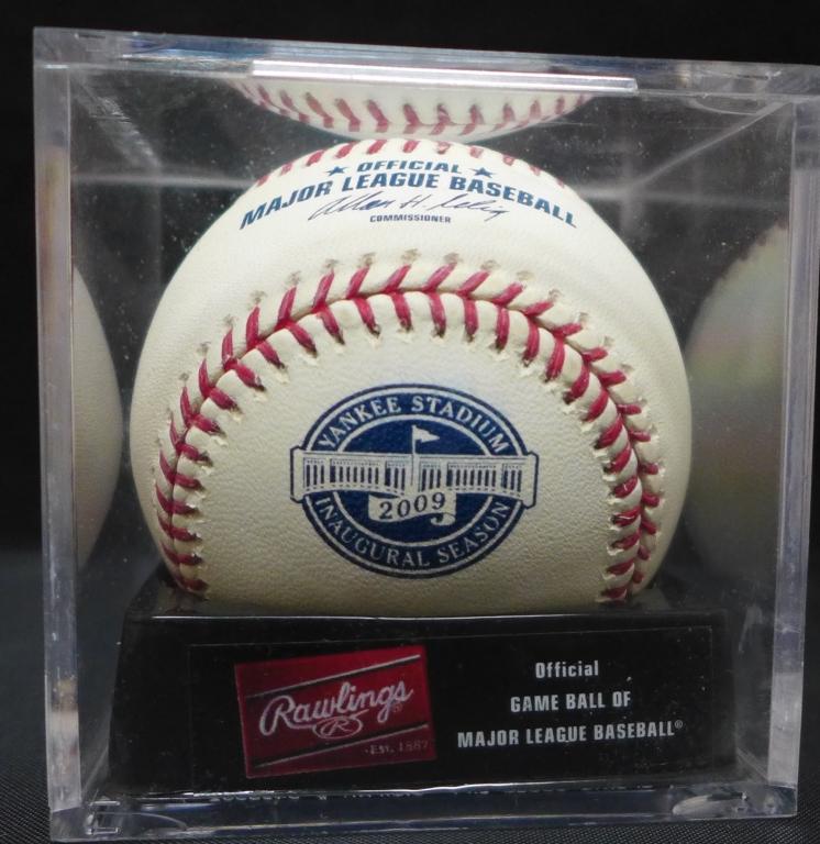 2009 NY Yankees Game Ball