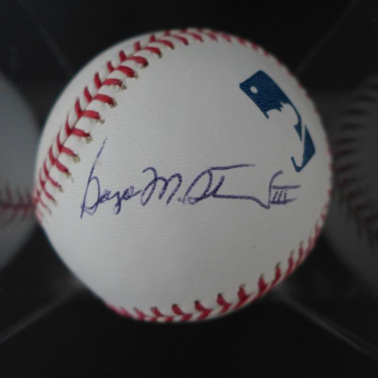 George Steinbrenner Autographed Baseball