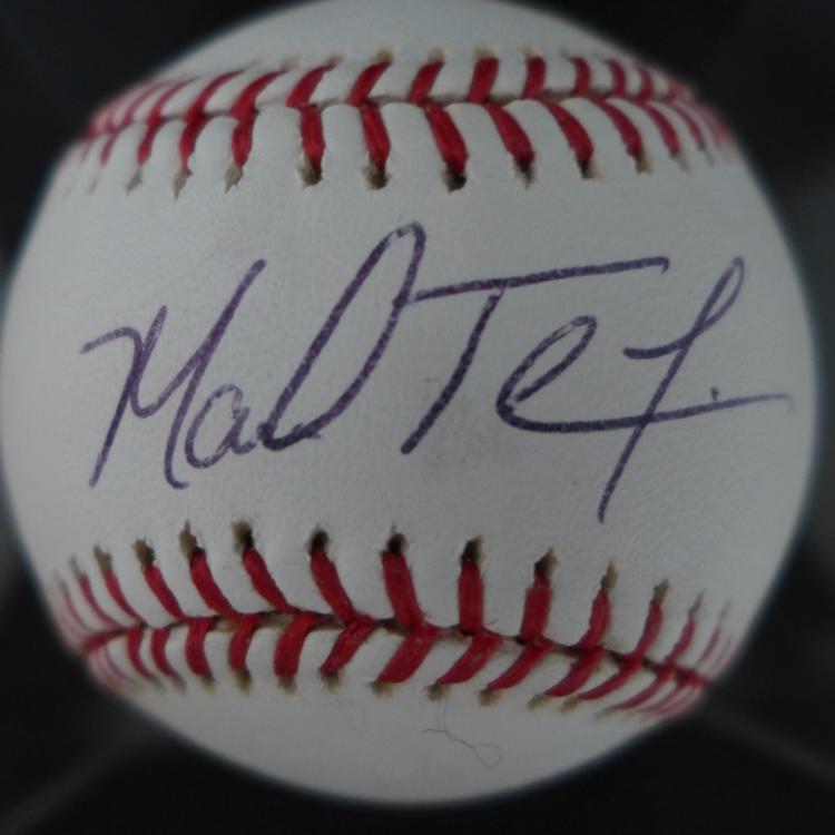 Mark Teixeira Signed Autographed JSA MLB Ball