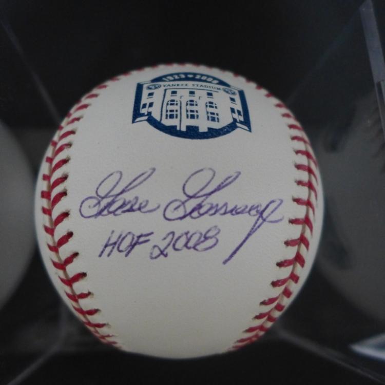 Autographed Goose Gossage Baseball HOF 2008