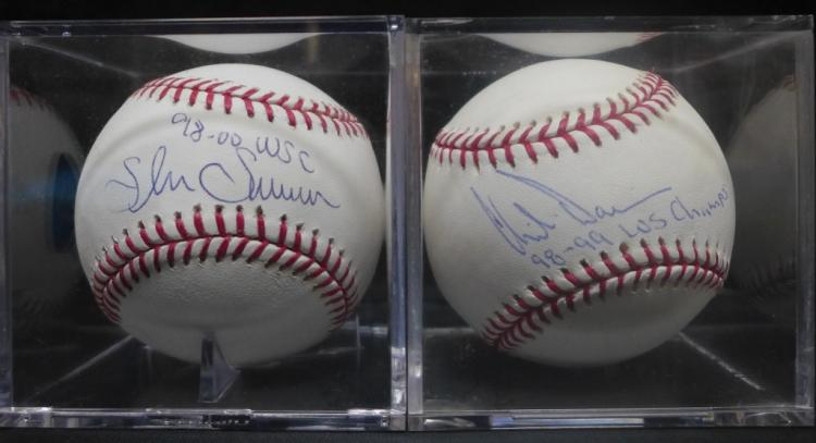 Yankees World Series Signed Baseballs