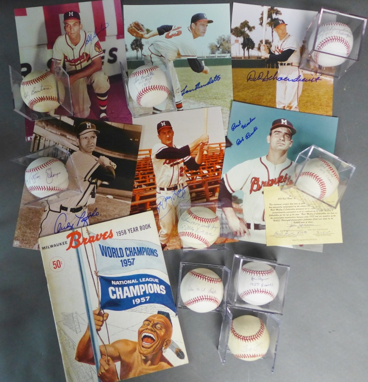 Milwaukee Braves 1957 World Champions