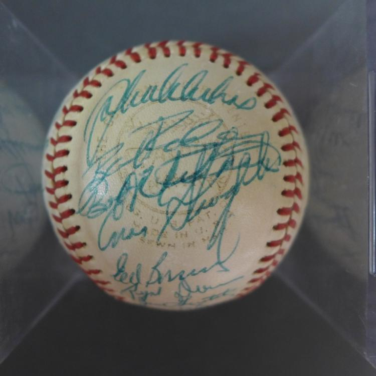 Old Timers' Reunion Team Signed Baseball w/ JSA