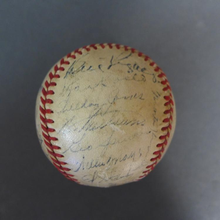 1951 NY Giants National League Champs w/ JSA