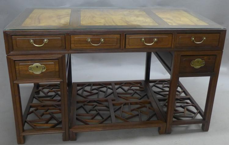 Antique Qing Dynasty Style Formal Writing Desk