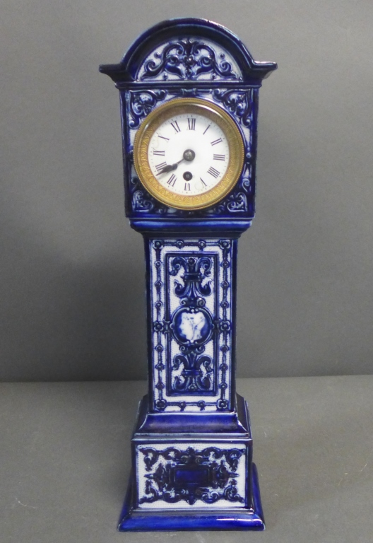 Royal Doulton Porcelain Grandfather Form Clock