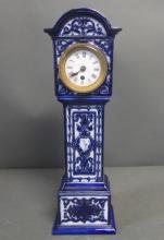 Royal Doulton Porcelain Grandfather Form Clock