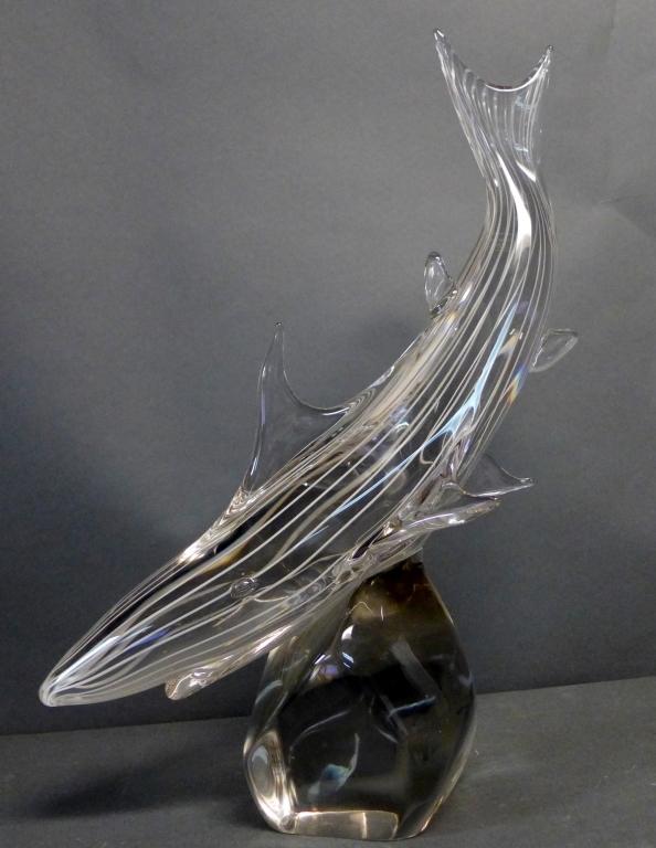 Zanetti Murano Art Glass Shark