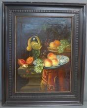 Framed Still Life Painting