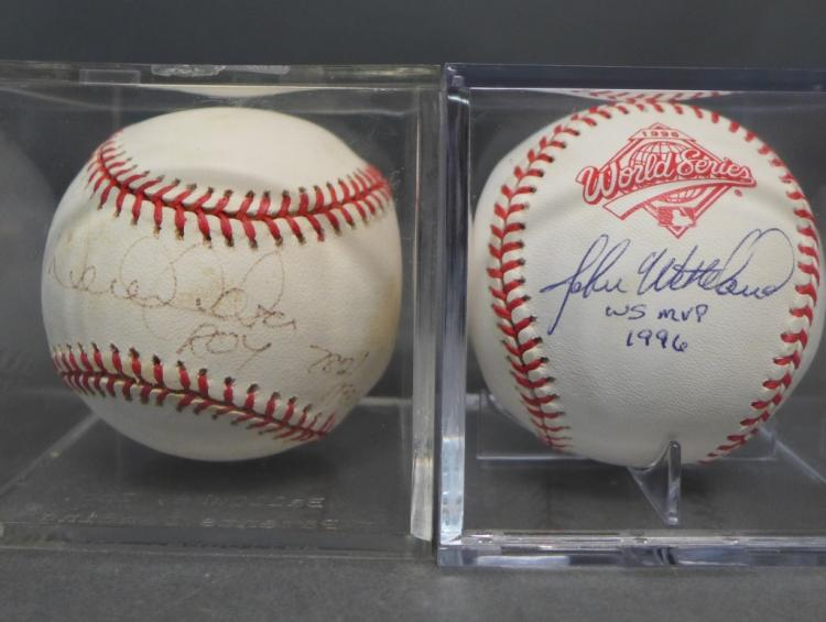 Yankees 1996 World Series Autographed Baseballs