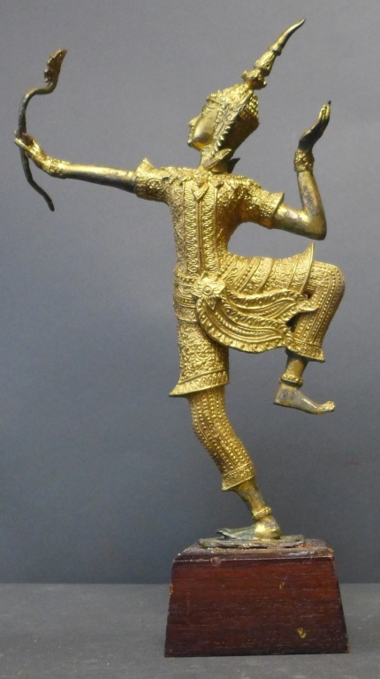 Bronze Statue of Rama The Thai Archer