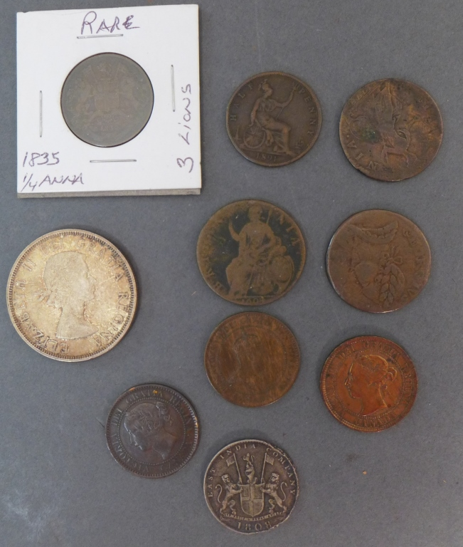 Vintage International Coins