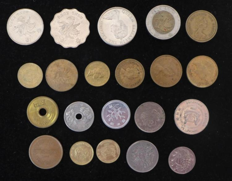 Asian Coin Assortment