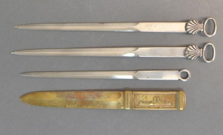 Collection of Tiffany & Co. Letter Openers