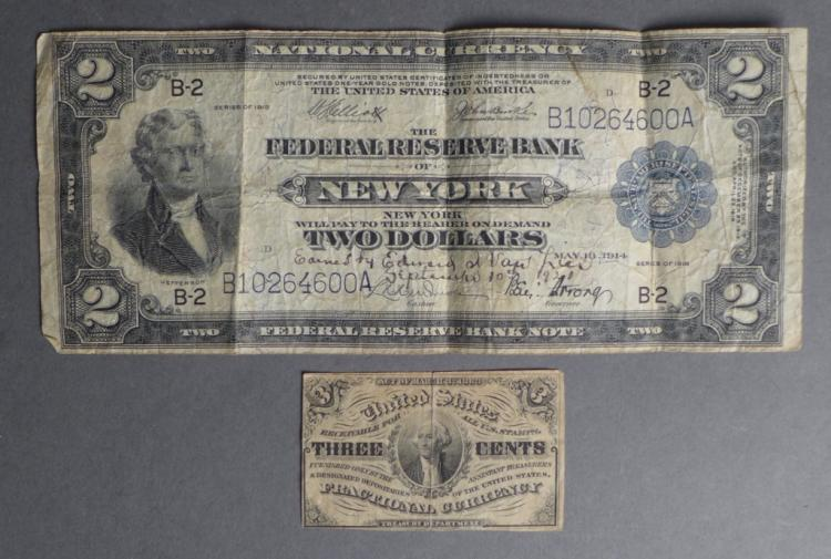Rare US Paper Currency