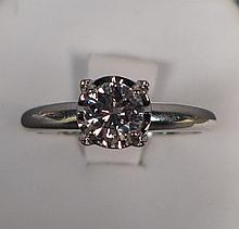 Solitare Diamond Engagement Ring