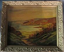 Landscape Signed Jvi Janece