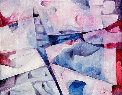 MANUEL CORONADO Spanien, född 1942 Abstrakt