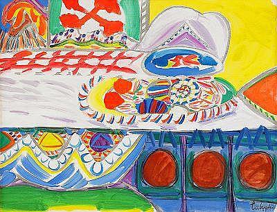 YASSE TABUCHI Japan, född 1921 Assiettes pleines