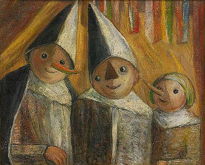 TADEUSZ TADE MAKOWSKI Polen 1882-1932 Trois