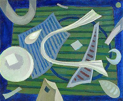 HENRI GOETZ Frankrike 1909-1989 Komposition