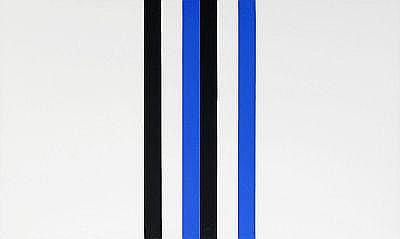 ANDREAS BRANDT Tyskland, född 1935 Schwartz-Blau,