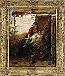 HENRI JOSEPH CAMPOTOSTO Belgien 1833-1910 Vilande