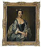 THOMAS HUDSON England 1701-1779 Porträtt