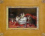 LOUIS EUGÉNE LAMBERT Frankrike 1825-1900 Lekande