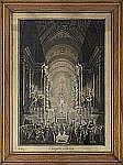 LOUIS JEAN DESPREZ 1743-1804 La chapelle Pauline