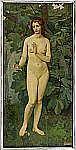GIUSEPPE CAROSI 1883-1965 Nymf Signerad och
