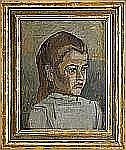 IVAN AGUÉLI 1869-1917 Egyptisk flicka Olja på duk,