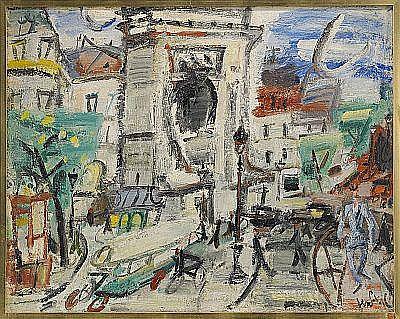 D - GEN PAUL Frankrike 1895-1975 La Porte
