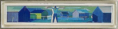 D - WALDEMAR LORENTZON 1899-1984 Laxfiskaren