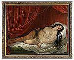 NATALE SCHIAVONI Italien 1777-1858 Odalisk i röd