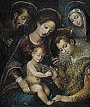 VENTURA SALIMBENI Sienaskolan, 1567-1613, hans