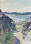 CARL WILHELMSON 1866-1928 Brunnsvägen,
