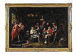 WILLEM VAN HERP holländsk skola, 1614-1677, hans