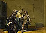 JACOB FRANSZ VAN DER MERCK 1610-1664 Interiör med