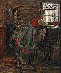 HILMA AF KLINT 1862-1944 Flickan vid fönstret